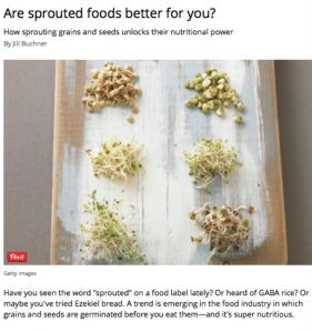 Sprouted Foods