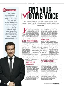 Rick Mercer's election advice