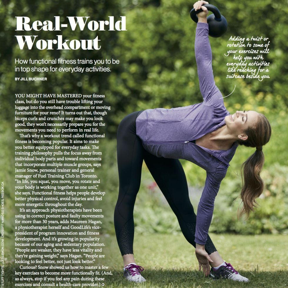 Real-World Workout